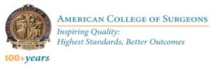 American College of Sergeons logo
